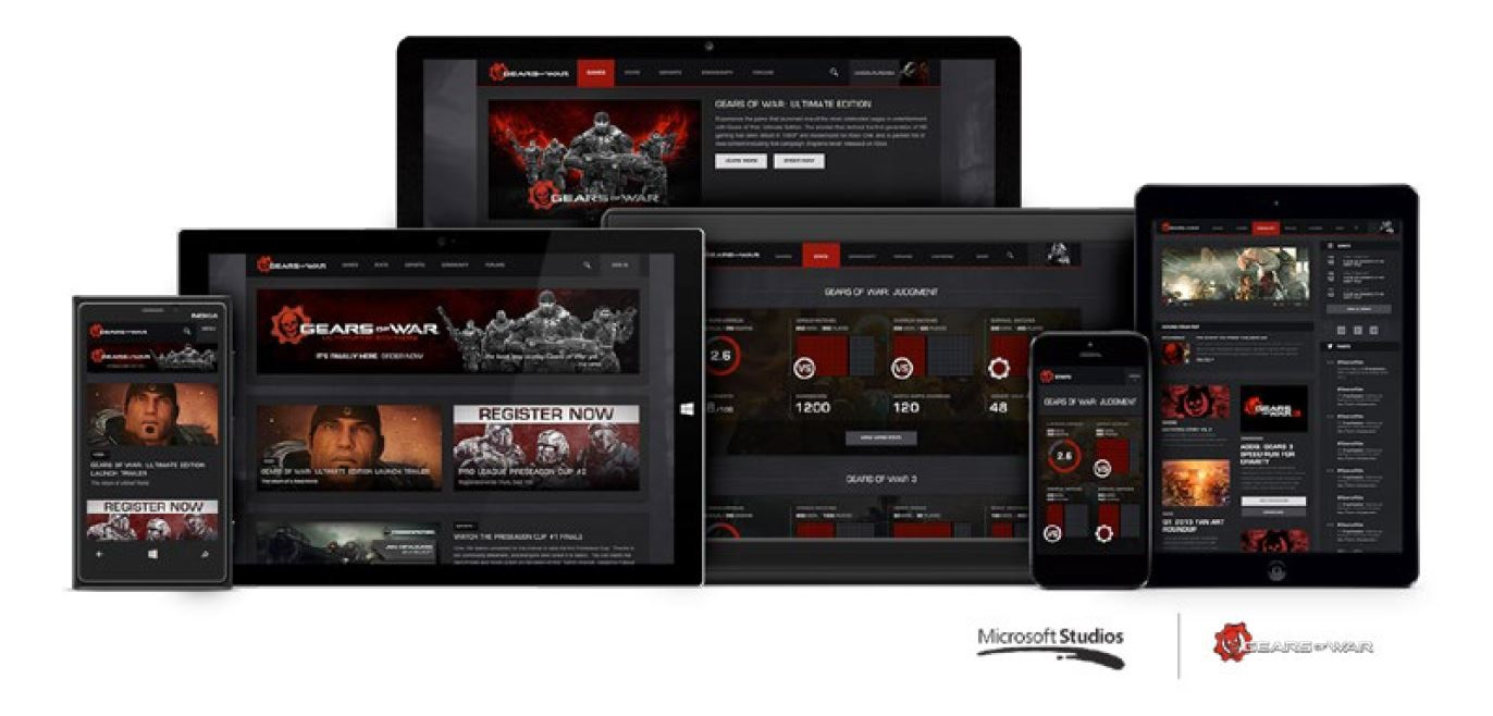 Graphic: Gears of War website